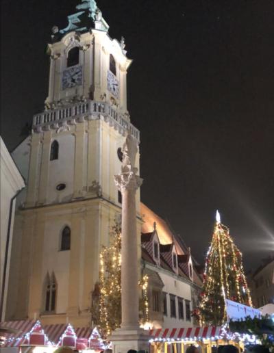 Beautiful Bratislava Christmas market