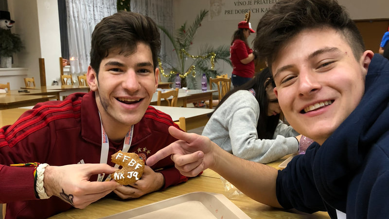 Me and Joaquins gingerbread cookies