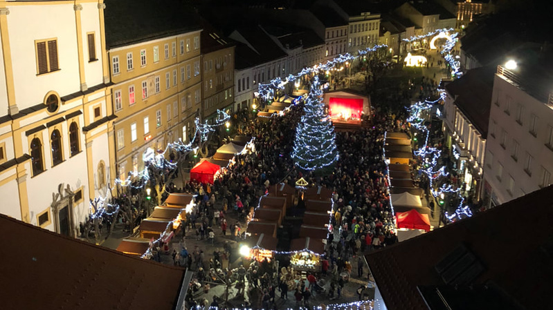 Trencin Christmas market!
