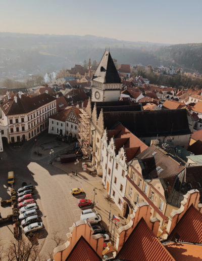 Tabor from the city tower