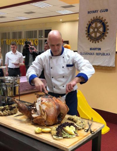 One of the huge turkeys