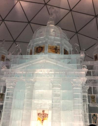 Ice Vatican city