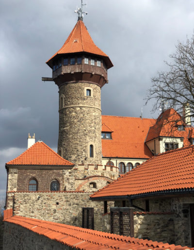 Castle in Most