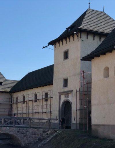Castle in the small village