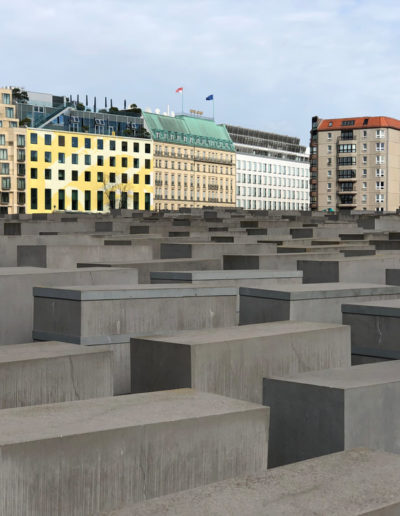 Memorial to the murder Jews of Europe - Berlin