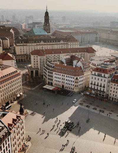 View from the tower in Dresden