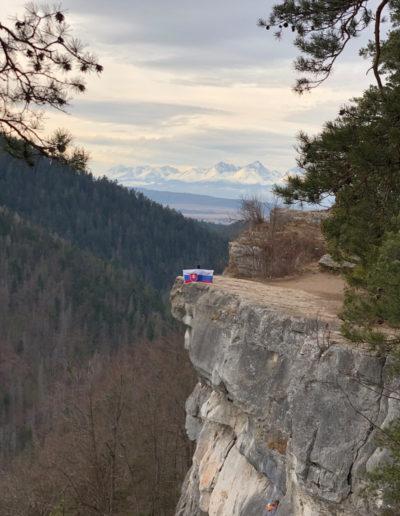 View point in Slovensky raj