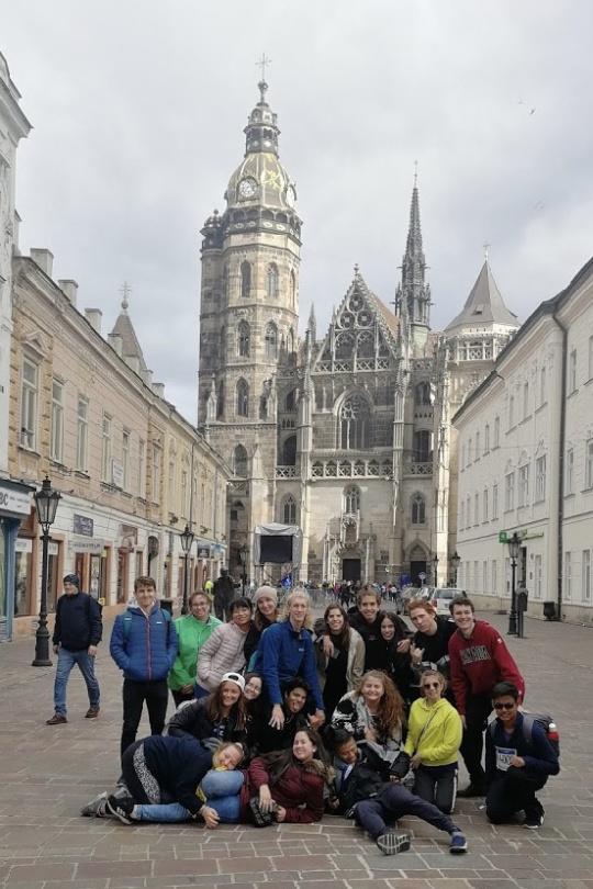 Students in Košice