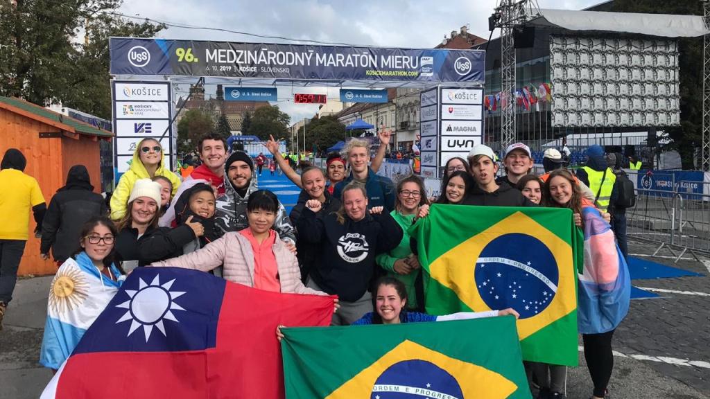 Biela noc (white night) and medzinárodný maratón mieru (Košice peace marathon)