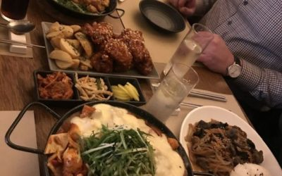 Korean meets Czech foods